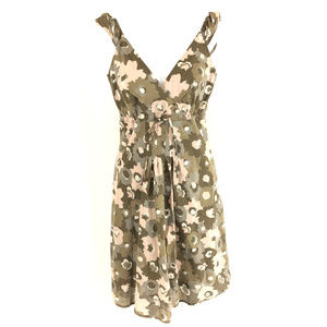 Patagonia Water Girl Dress Floral A Line XS